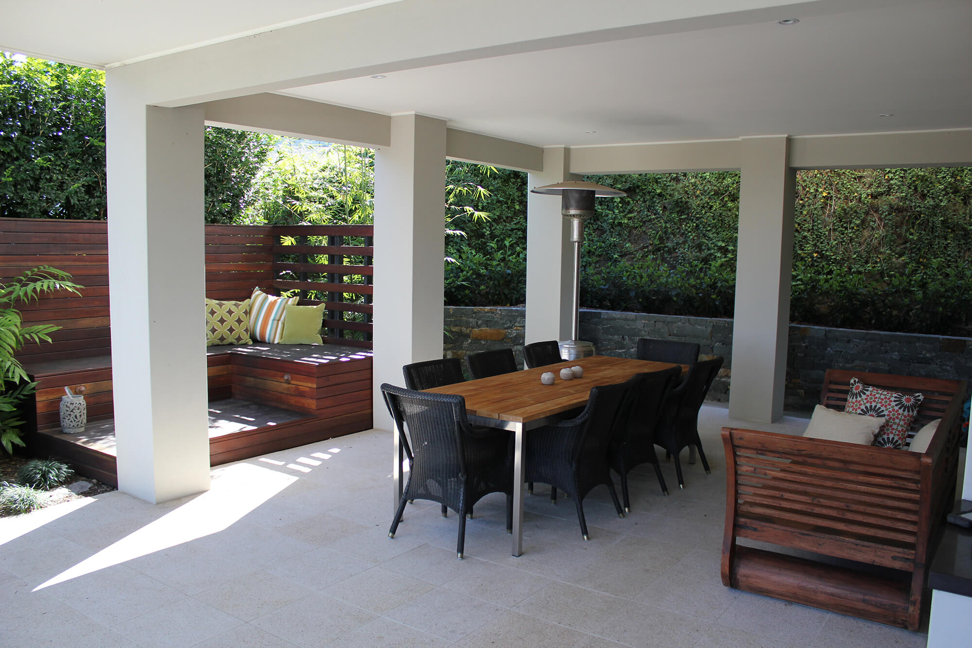 ascot outdoor living area